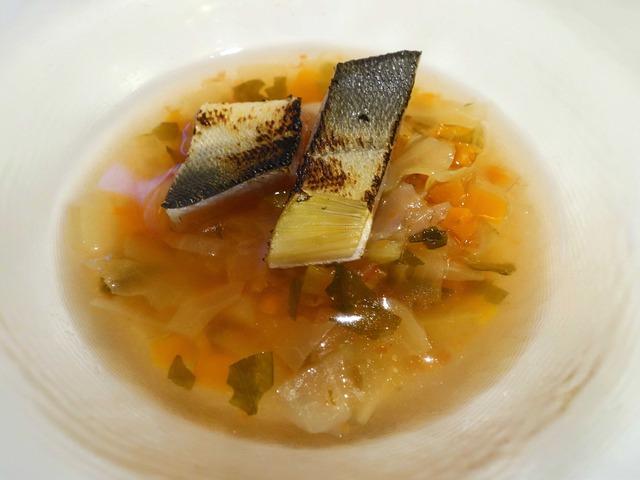 天然アユと野菜のスープ 2_edit