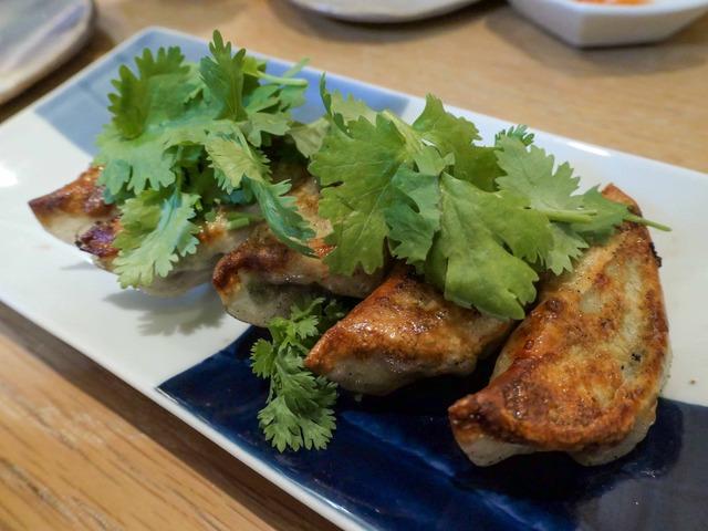 鶏パクチー餃子 2_edit