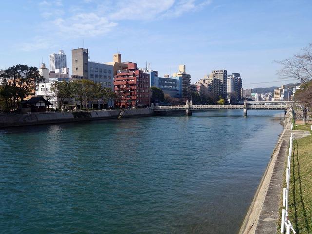 稲荷大橋から見た京橋川 5_edit