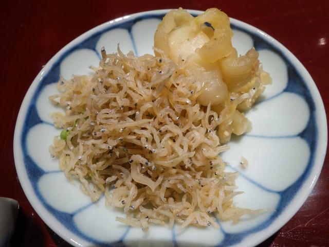 ちりめん山椒,白菜の漬物 2_edit