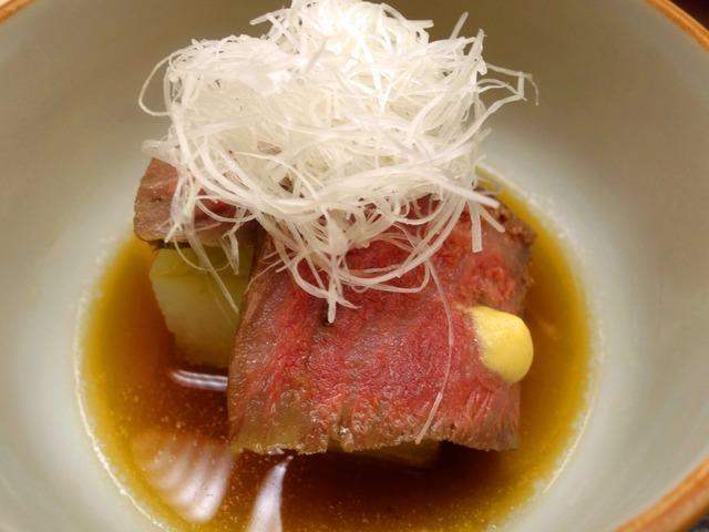尾崎牛と冬瓜の炊き合わせ 3_edit