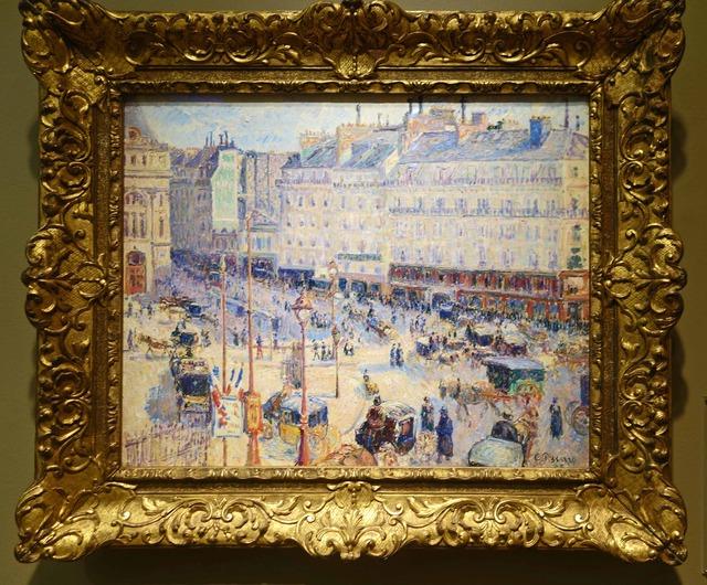 ピサロ 『パリのル・アーヴル広場』_edit