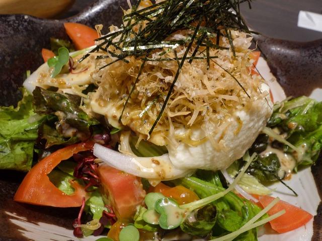 和田島カリカリジャコと手作り豆腐の和風サラダ 3_edit