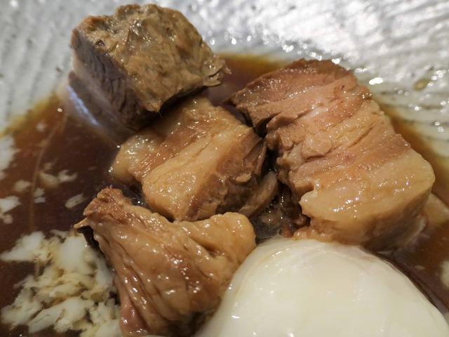 豚バラのとろとろ煮,温玉のせ 5_edit