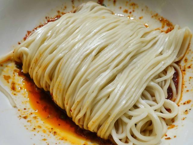 特製辛いソース和え麺 3_edit