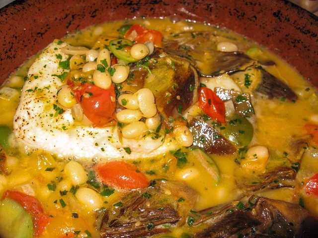 Bass braised in the wood oven 1_edit