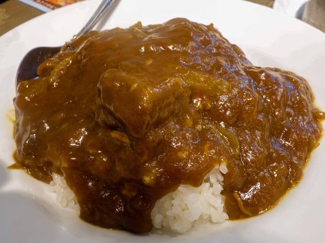 牛バラ肉カレーご飯 2_edit