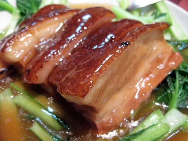 豚肉の角煮 中華野菜添え 2_edit