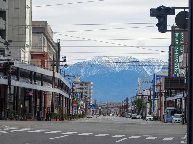 立山連峰を望む 3_edit