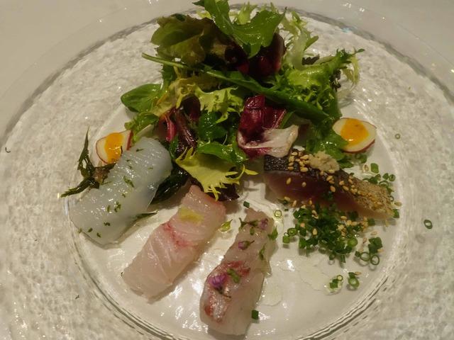 鮮魚のカルパッチョ,サラダ仕立て 1_edit