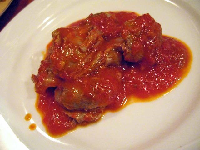 砂肝のトマト煮込み 1_edit
