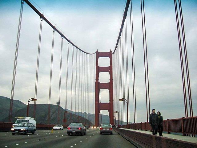 Golden Gate Bridge 走行中 2_edit