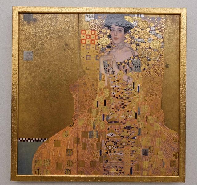 クリムト『アデーレ・ブロッホ=バウアーの肖像 I』 2_edit2
