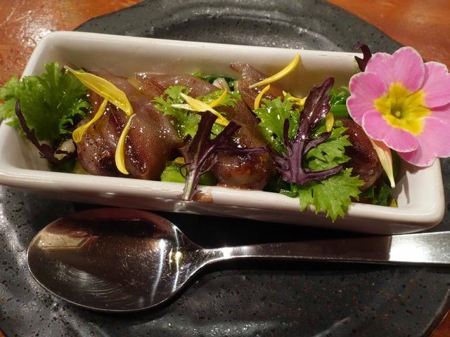 生ホタルイカと菜の花 1_edit