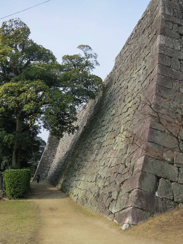 二の丸石垣 2_edit
