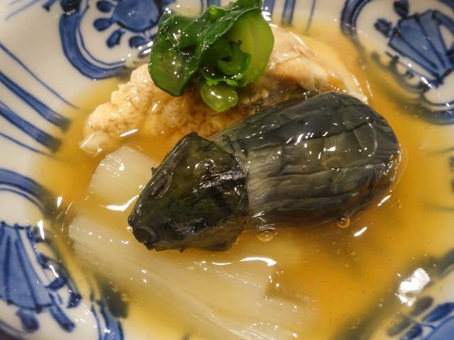 炊き合わせ(小松菜,ずいき,ハマグリ,小茄子) 4_edit