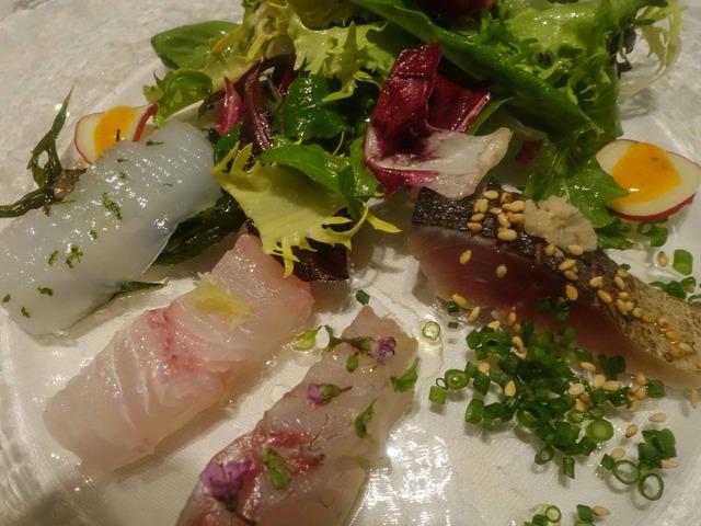 鮮魚のカルパッチョ,サラダ仕立て 6_edit