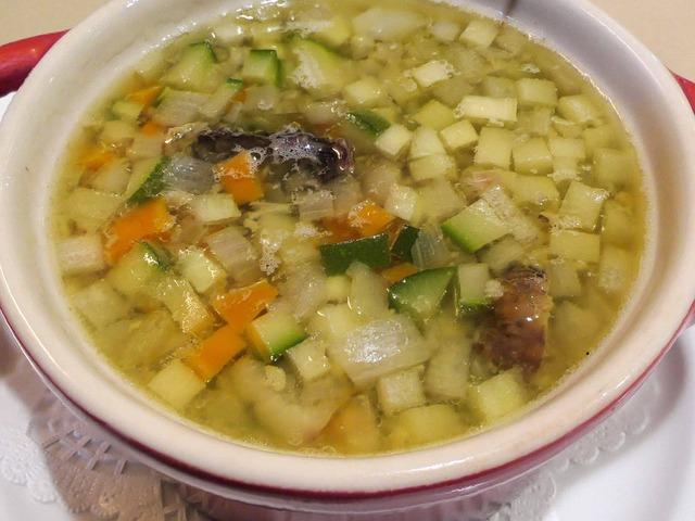スッポンと小さな野菜のスープ 2_edit