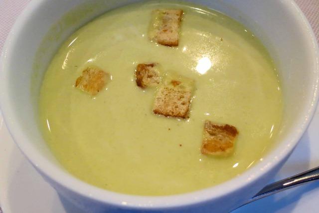 青豆の冷製ポタージュ・スープ 3_edit