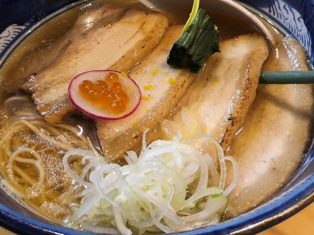 叉焼純粋豚そば(醤油) 2_edit