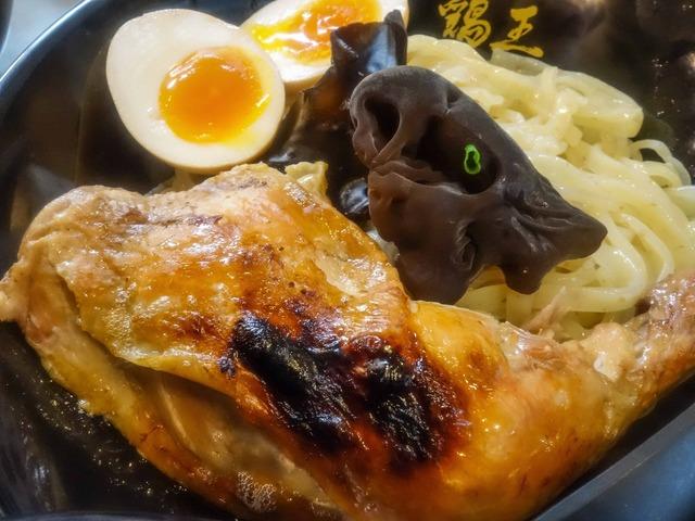 鶏王つけめん味玉入り 4_edit