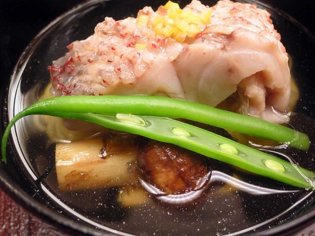 甘鯛,松茸,にゅうめんのお椀 3_edit
