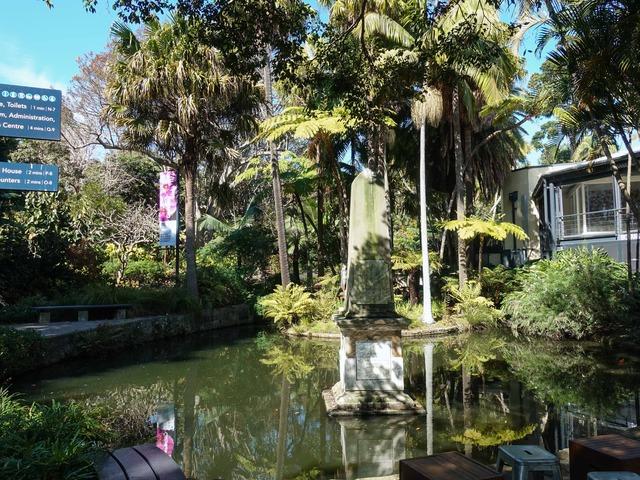 Botanic Gardens Cafe 前の池_edit