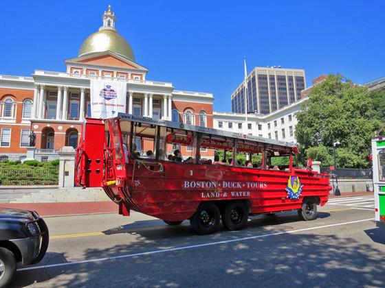 マサチューセッツ州議事堂とボストンダックツアー_edit