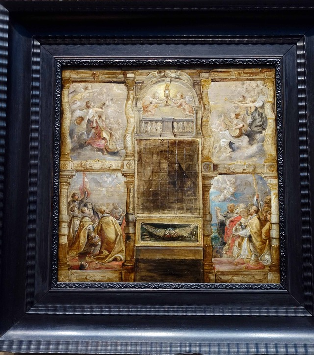 ルーベンス 『The Adoration of the Eucharist』 2_edit