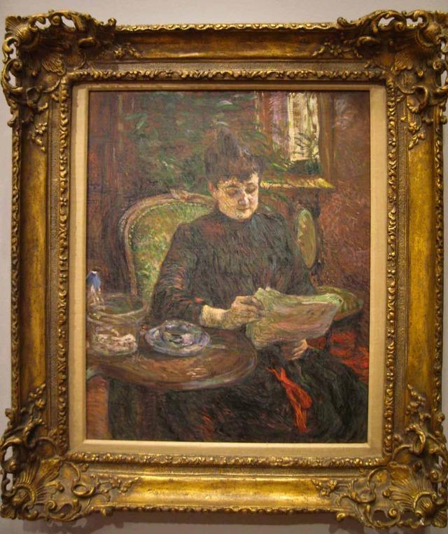 ロートレック 『Madame Aline Gibert』 1_edit