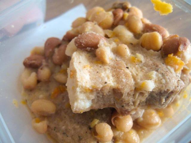 豚バラと豆の煮込み 1_edit