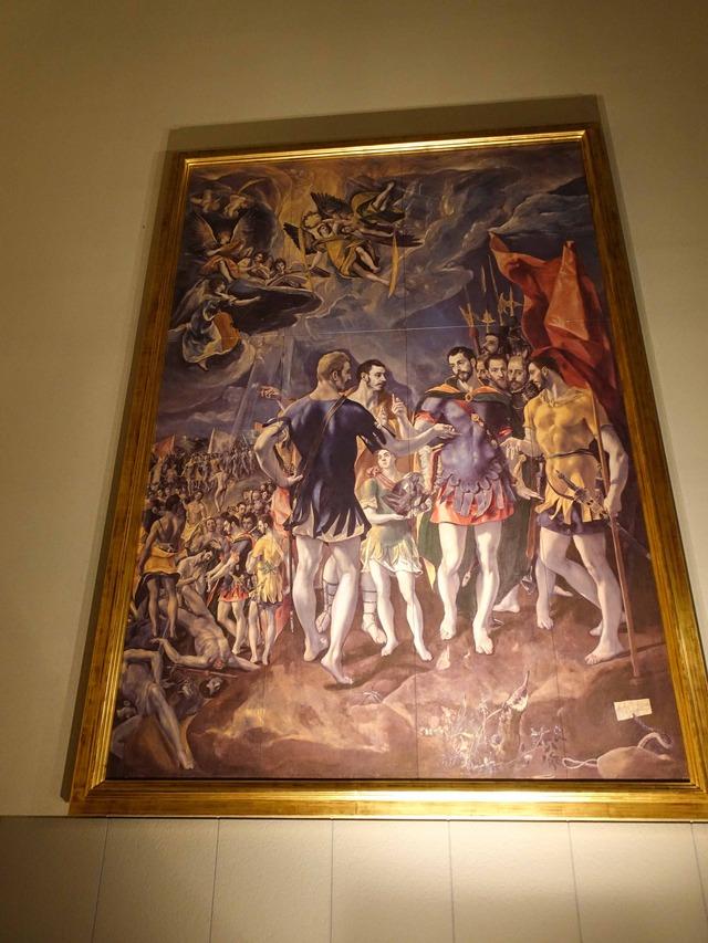 エル・グレコ『聖マウリティウスの殉教』 2_edit