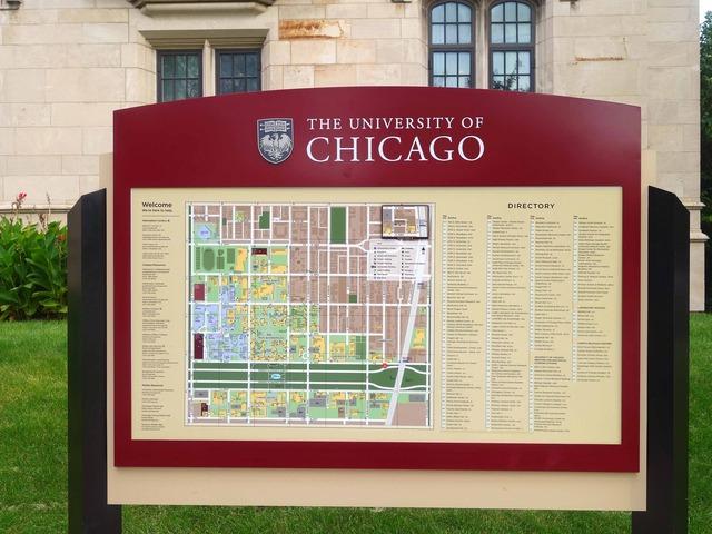 シカゴ大学キャンパスマップ@59th & Blackstone_edit