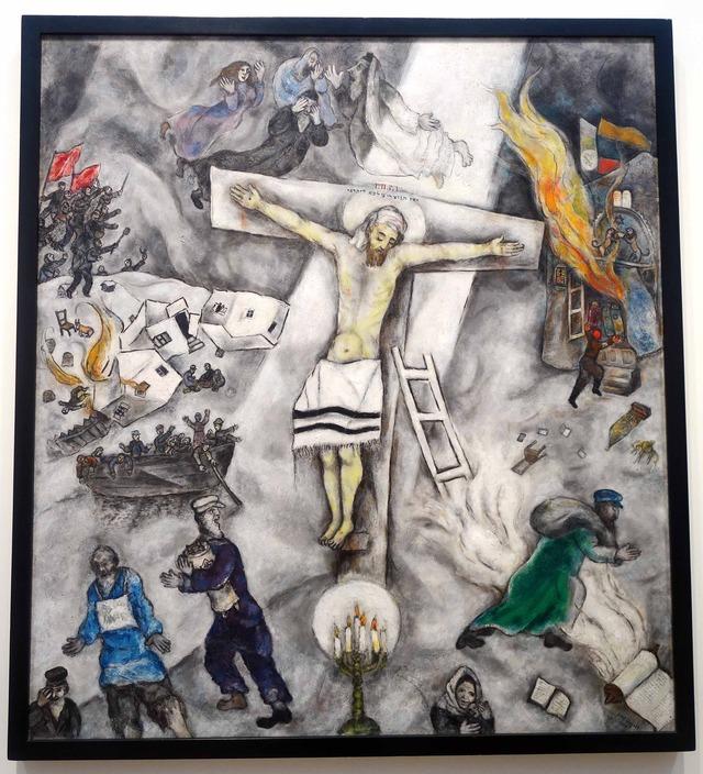 シャガール 『白い十字架』 3_edit