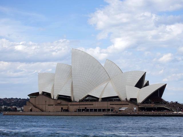 Circular Quay からオペラハウスを望む 7_edit