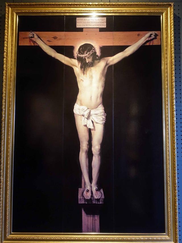 ベラスケス『キリストの磔刑』 2_edit