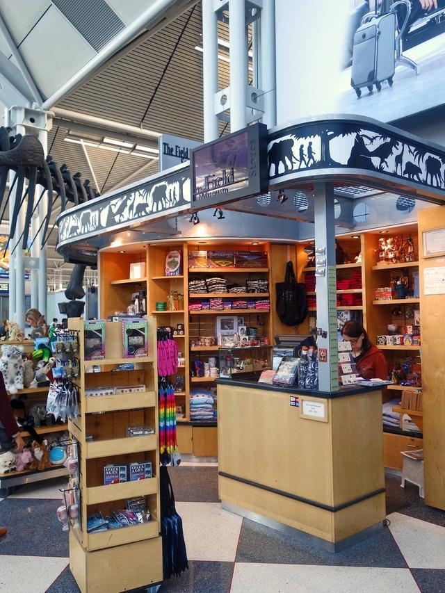 The Field Museum Store_ターミナル 1 Bゲート_edit