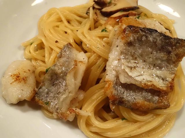 松茸と太刀魚のアリオ・オリオ・スパゲティー 5_edit