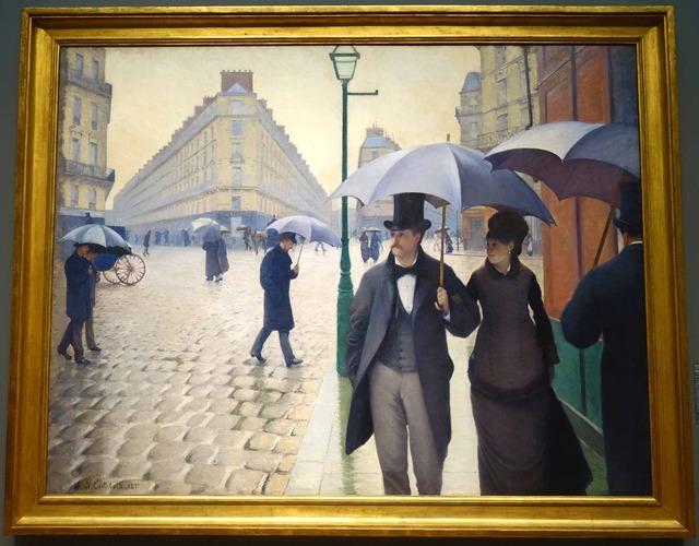 カイユボット 『パリ,雨の日』 3_edit