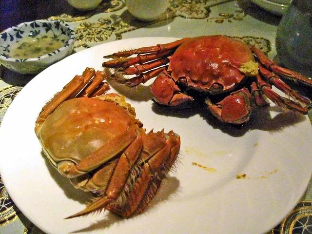 上海蟹の姿蒸し 1_edit