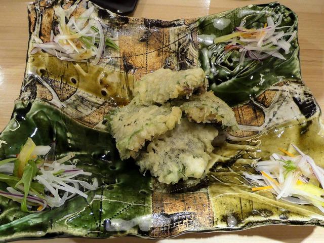 うなぎと梅肉の天ぷら 1_edit