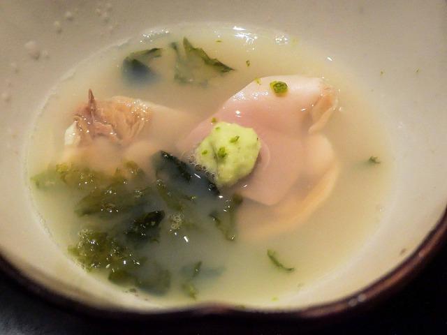 ハマグリとアオサのスープ 2_edit