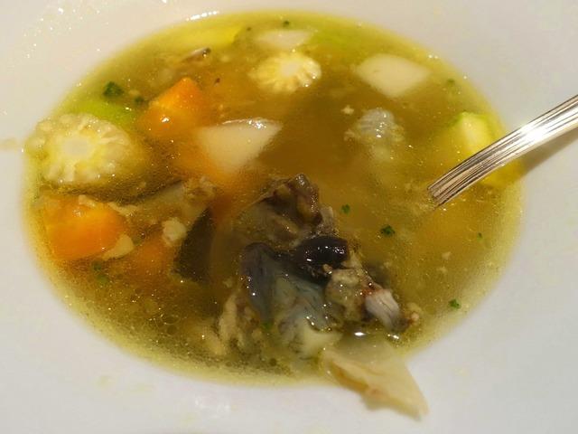 スッポンと野菜のあっさりスープ 4_edit