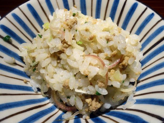 鴨ひき肉と香味野菜の炊き込みご飯 2_edit