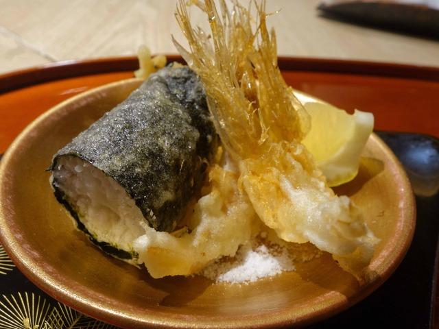 白エビと白魚の天ぷら 2_edit