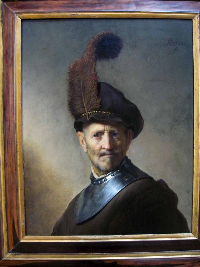 「年老いた男の肖像」レンブラント_edit
