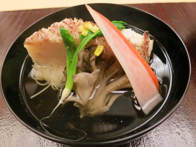 鯛,舞茸,にゅうめんのお椀 1_edit