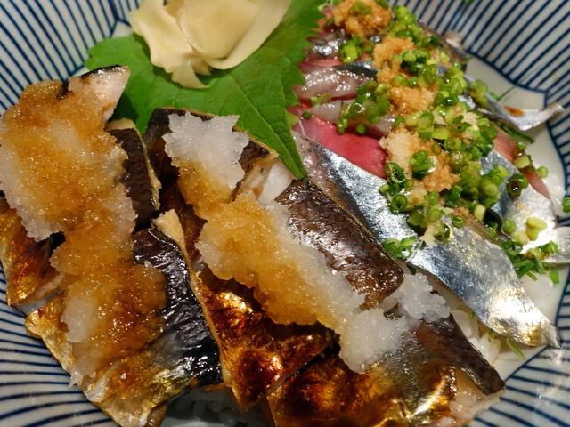 秋刀魚二色丼 3_edit