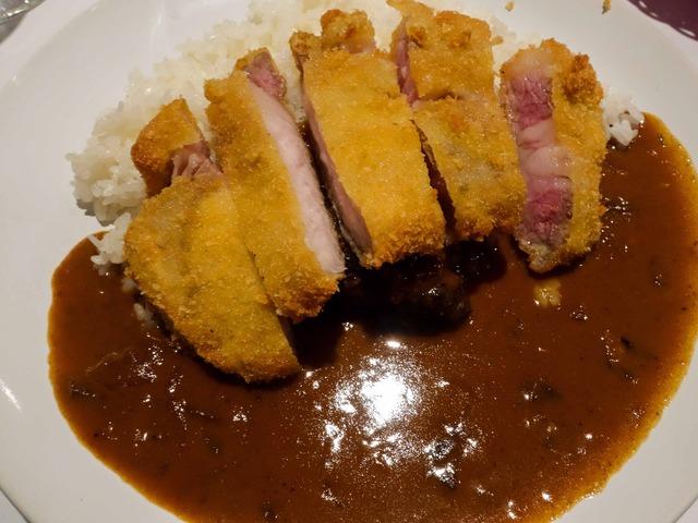 欧風和牛カレー,青森県長谷川自然豚のカツ添え 1_edit