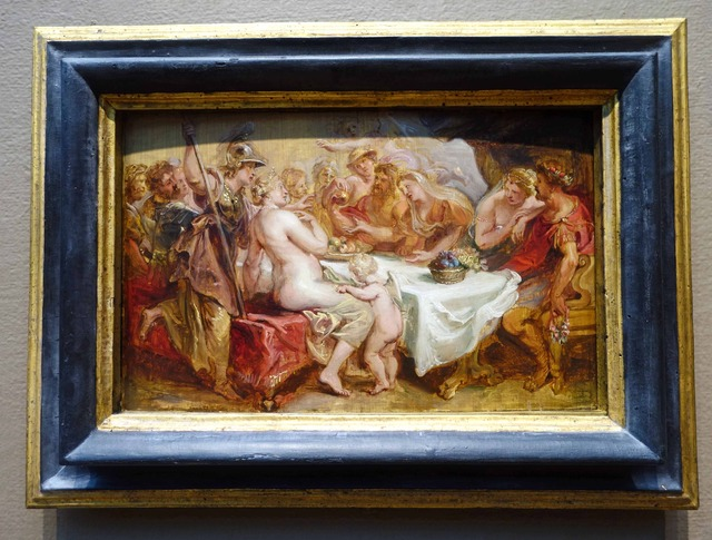 ルーベンス 『The Wedding of Peleus and Thetis』 2_edit